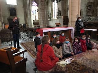 Préparation de la première communion à Corbigny